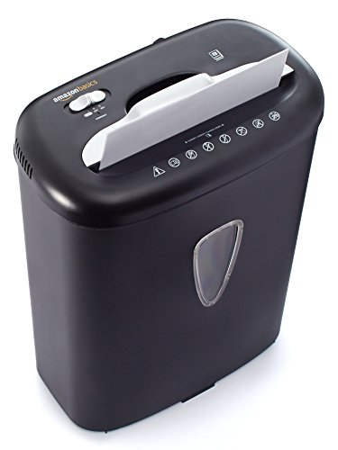 Large Product Image of AmazonBasics 8-Sheet Cross-Cut Paper and Credit Card Shredder