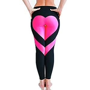 Meolin Funny Stretchy Leggings Skinny Pants Women's Yoga Leggings Exercise Workout Pants Gym Tights