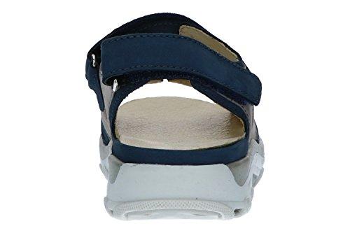 Lugina Damen Sandalen 448001-691-593 Jeans Stein