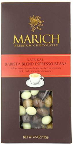 MARICH CONFECTIONERY House Blend Espresso Beans, 4.5 OZ