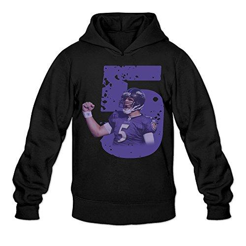 (Show Time Men's Joe Flacco Fashion Sweater Black XL)