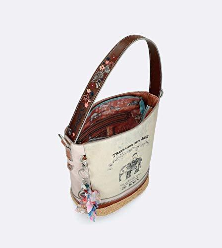 28872 Anekke Sparto Borsa Collezione Hobo Con 46 India Fondo rO0pFqOxw