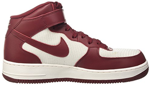 Basket Mid White da Team Uomo 1 Summit Scarpe Air '07 Rosso Red Nike Force qgatw0