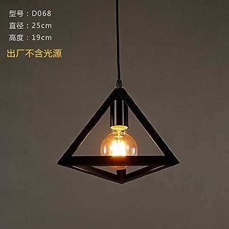WI Inicio Iluminación exterior Lámpara colgante Lámpara de ...