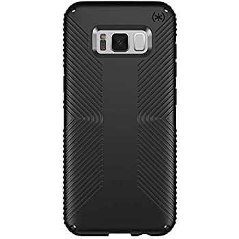 online store 5d5a8 8d2f4 Speck Products Presidio Grip Cell Phone Case for Samsung Galaxy S8 Plus -  Black/Black