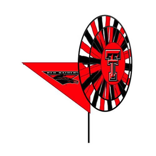 Ncaa Yard Spinner (Texas Tech Red Raiders - Wind Spinner)