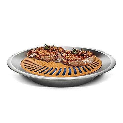 Ti Cerama Non-stick Stove Top Indoor Grill