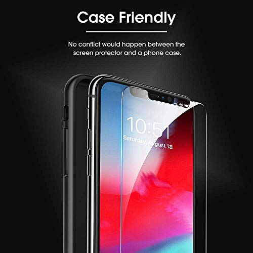 new style 527fd 85457 OMOTON Tempered Glass Screen Protector Compatible Apple - Import It All
