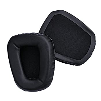 JHGJ Replacement Earpads Ear Pads Cushions for Razer Electra Analog Gaming Headsets Color Black
