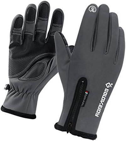 サイクリンググローブ 自転車 手袋 スマホ対応 防水 防風 保温 滑り止め 釣りバイク 全5サイズ