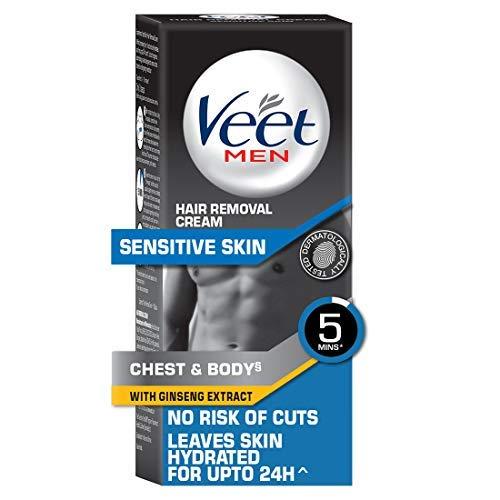 Veet Hair Removal Cream for Men, Sensitive Skin – 100g