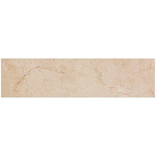 Wall Crema (VitaElegante Crema 6 in. x 24 in. Porcelain Floor and Wall Tile (14.53 sq. ft. / case))