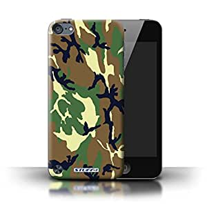 STUFF4 Phone Case / Cover for Apple iPod Touch 5 / Green 4 Design / Camouflage Army Navy Collection