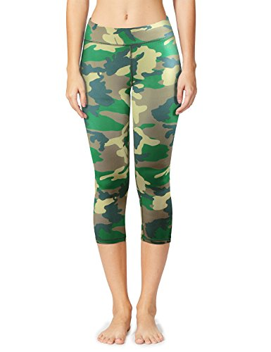 Camo Capri Sweatpants - 6