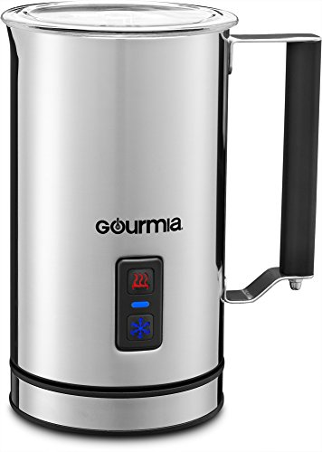Cheapest Price! Gourmia GMF215 Cordless Electric Milk Frother & Heater, 3 Function, Detachable Base ...