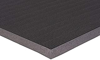 "product image for Apache Mills Black Rubber, Entrance Mat, 2 ft. 8"" Width, 3 ft. 3"" Length - 39372090032x39"