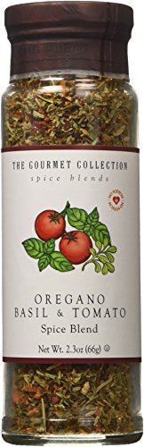 The Gourmet Collection, Oregano, Basil & Tomato Spice Blend