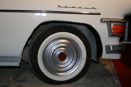 ATLAS 13 White Tire Wall Portawall Insert Trim Set 4pcs