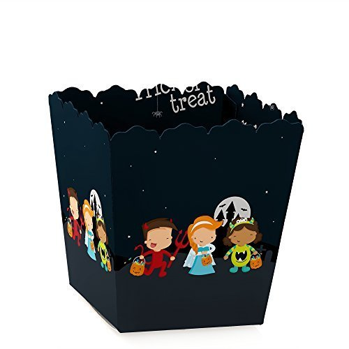 Trick or Treat - Party Mini Favor Boxes - Halloween Party Treat Candy Boxes - Set of 12 ()
