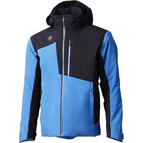 Descente Mens Rage Jacket (Airway Blue/Black / Medium)