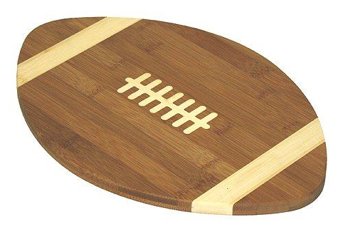Simply Bamboo Football Cutting Board