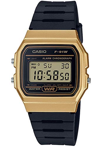 Casio F-91WM-9A unisex quartz wristwatch