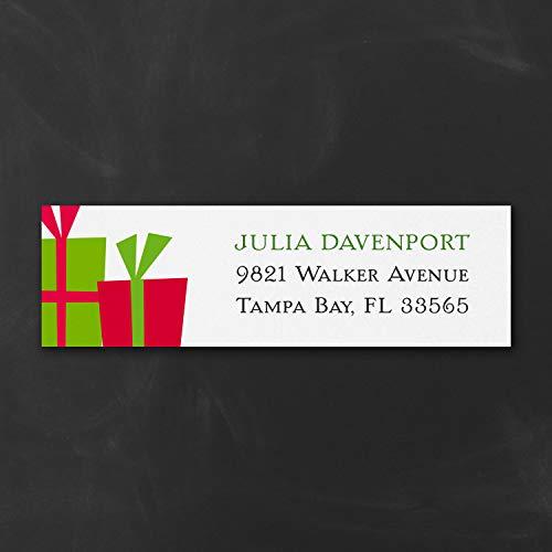 - 2205pk Holiday Presents - Address Label-Address Labels
