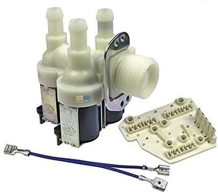Lavadora de válvulas Miele Electroválvula de 3 vías 90 10,5 mm Miele 1678012 1678013 1881620