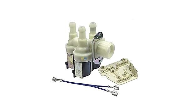 Lavadora de válvulas Miele Electroválvula de 3 vías 90 10,5 mm ...