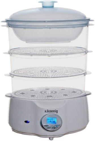 H.Koenig VS4e - Robot de cocina al vapor eléctrico (900 W): Amazon.es: Hogar