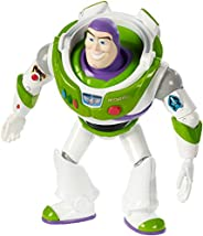 Disney Pixar Toy Story 4 Buzz Lightyear Figure, 7 in / 17.78 cm Tall, Posable Character Figure for Kids 3 Year