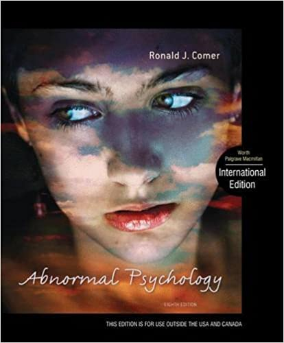 Macmillan learning: launchpad for comer's abnormal psychology (six.