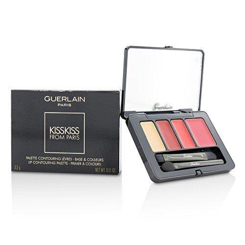 Guerlain Guerlain kisskiss from paris lip contouring palette - #001 passionate kiss, 0.12oz, 0.12 Ounce 0.12 Ounce Kisskiss Lipstick