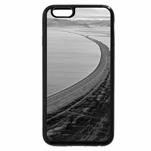 iPhone 6S Plus Case, iPhone 6 Plus Case (Black & White) - Cape-Blossom