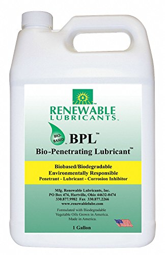 Renewable Lubricants Bio-Penetrating Lubricant, 1 Gallon Jug