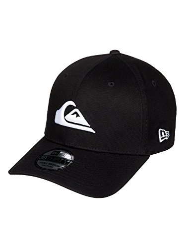 Quiksilver Men's Mountain and Wave Black Hat, White, (Quiksilver Mens Mountain Wave)