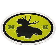 "Moosehead Beer Oval Sticker 4"" x 6"""