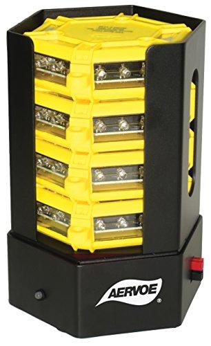 AERVOE Universal Road Flare - 4-flare kit with Amber LEDs...