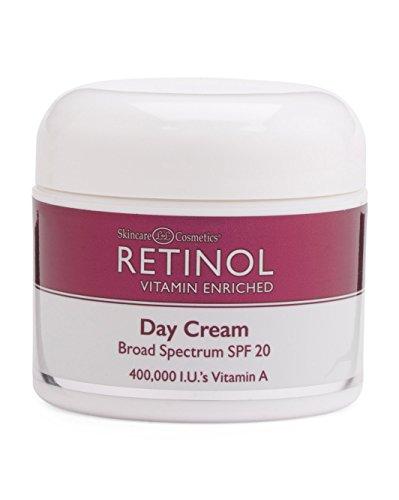 Retinol Day Cream (Retinol Day Cream With SPF 20, 2.25 Oz.)