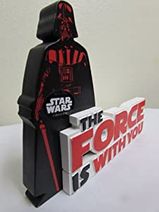 """Star War's """"The Force Is With You"""" Darth Vader Hallmark Desk Plaque"""