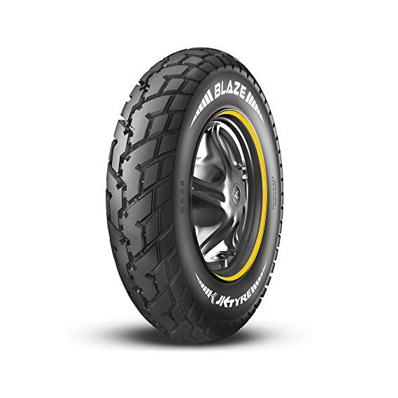 JK Tyre BLAZE BA22 90/100-10 Tubeless Scooter Tyre, Front & Rear