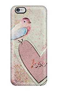 Tpu Case Cover For Iphone 6 Plus Strong Protect Case - Vintage Design
