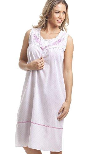 Da Senza Rosa Home Cfhjn Notte Dot Maniche Camicia Bianca Classica dfXqxEx