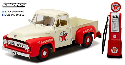 Greenlight 12991 1953 Ford F-100 Texaco with Vintage for sale  Delivered anywhere in USA