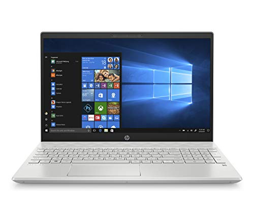 HP Pavilion 15-Inch Laptop, Micro-Edge Touchscreen, All-Metal Case, Intel Core I5-8265U Processor, 8 GB RAM, 256 GB Solid-State Drive, Windows 10 Home (15-cs2010nr, Mineral Silver)