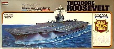 (USS Theodore Roosevelt Carrier 1-800 Arii)