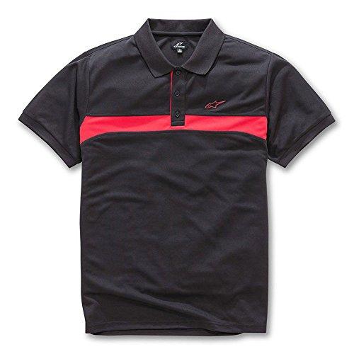 Alpinestars Men's Victory Polo Shirt Black ()