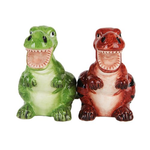 Salt & Pepper Shakers - Dinosaur Magnetic Salt And Pepper Shakers