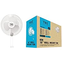 16 inch Oscillating Wall Mount Fan, Ceiling Fan