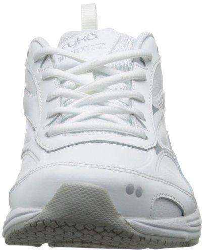 Ryka Intent de la mujer XT 2SR Trail Running Shoe White/Chrome Silver/Open White